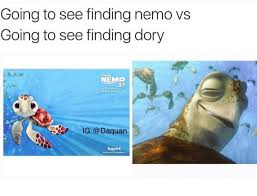 Finding Nemo Meme - the atz show finding dory easter eggs references pixar theory