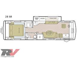 2 Bedroom Travel Trailer Floor Plans Allegro Breeze Compact Class A Motorhome Review 28 Foot Rv