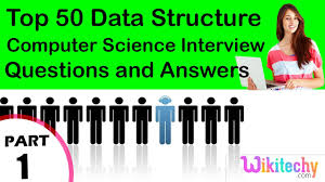 top 50 data structure cse technical interview questions and