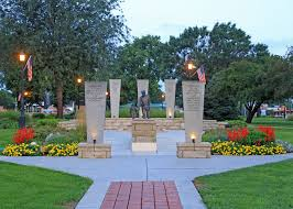 junction city geary county law enforcement memorial in heritage