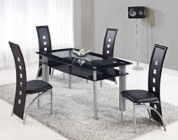 Dining Room Chairs Chicago Stores Chicago Glass Dining Set