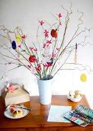 diy easter tree decorations holidays entertaining 100 layer