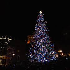 Portland Christmas Lights Portland U0027s Pioneer Courthouse Square Christmas Tree 27 Photos