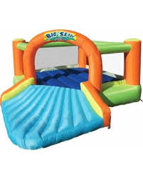 incredible deal on banzai big slide bouncer inflatable jumping