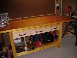 furniture 20 inspire images wooden workbench drawers how to