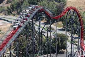 Six Flags Magic Mountain Opening Hours Fourth Dimension 4d Coaster Videos U0026 Facts