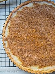 Crustless Pumpkin Pie Recipe South Africa by South African Milk Tart Or Melktert Not Quite Nigella