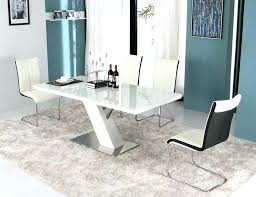White Dining Room Table Sets White Modern Dining Room Lacquer Dining Room Set Modern White