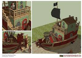 playhouse shed plans home garden plans ps100 pirates ship playhouse plans