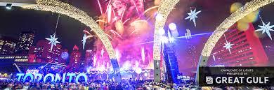 christmas light show toronto cavalcade of lights city of toronto