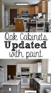 Diy Painting Kitchen Cabinets by White Painted Kitchen Cabinet Reveal With Before And After Photos
