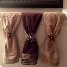 enchanting bathroom towel decor 95 bath towel ideas towel