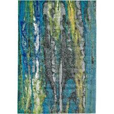 Modern Green Rug 8 X 11 Large Blue Green Area Rug Brixton Rc Willey Furniture Store