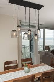 kitchen and dining room lighting lighting mason jar light fixture jill cordner interior design dt