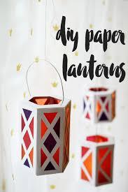 diy paper lanterns to display at any holiday celebration