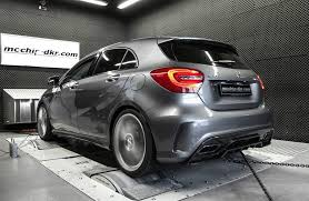how about a mercedes a45 amg with 453 hp yes it s possible