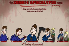 Zombie Apocalypse Meme - the zombie apocalypse meme by thederpnarwhal on deviantart