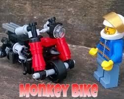 lego honda lego ideas honda z100 monkey bike