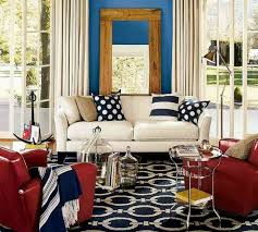 Red And Blue Living Room Ideas Facemasrecom - Red and blue living room decor