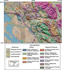 Map Of Eastern Washington by Holocene Earthquakes And Right Lateral Slip On The Left Lateral