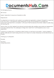 brilliant ideas of example letter asking for work experience on