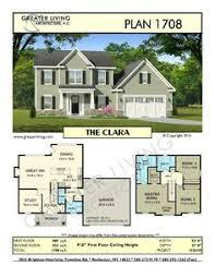 Residential House Floor Plan Plan 2881 The Wingerden Two Story House Plan Greater Living