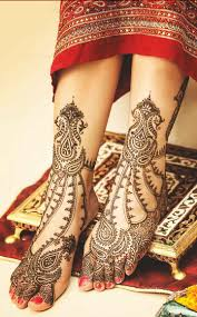 mehndi designs for legs for bridals image gallery
