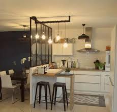 espace cuisine relooking d un espace cuisine salle à manger avec verrière à