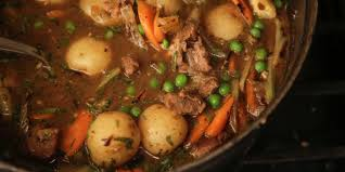 french lamb stew with fennel carrots and peas navarin
