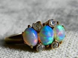 black opal engagement rings black opal ring antique opal ring opal engagement ring