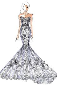 runway sneak peek spring 2013 sketches wedding dresses brides