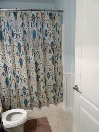 High End Fabric Shower Curtains Bathroom Fabric Shower Curtains Ikea Shower Curtain Rod High End