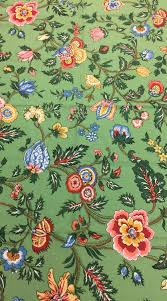 Tropical Home Decor Fabric Reserved Green Upholstery Fabric Duralee Fabric 1 Yd Floral