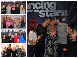 dwts light up the night tour vip photo list dwts light up the night winter tour lights camera