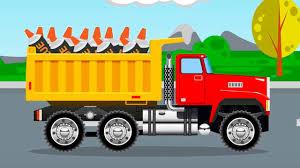 truck vs construction trucks trucks for children kids cartoon