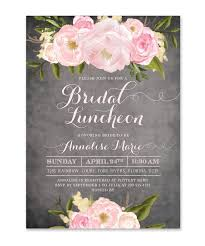 bridesmaids luncheon invitations emily bridal luncheon invitation bridal shower invitations