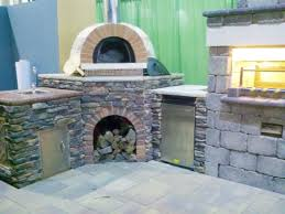 outdoor kitchen designs with pizza oven home outdoor decoration
