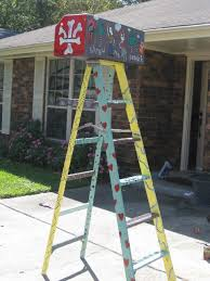 mardi gras ladders mardi gras ladder artwork stand out in a crowd with a one of