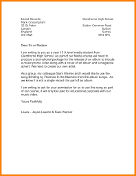 format of a permission letter image collections letter samples