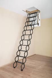 fakro lst series scissor attic ladders 300 lb capacity