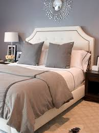 Design For Headboard Shapes Ideas This Grey Wall Color With The White Tufted Headboard And Drum