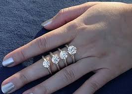 size 6 engagement ring 13 best carat comparison images on rings