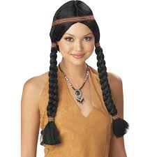 spirit halloween wigs native american costumes american indian costumes
