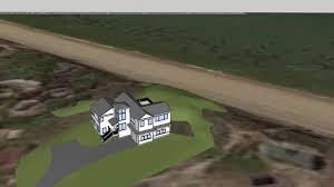 contemporary custom home waterfront model youtube loversiq