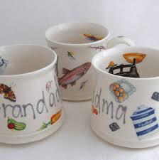 personalised handmade mug by the handmade mug company