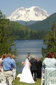 wedding venues in montana mount rainier mineral lake wedding accommodations