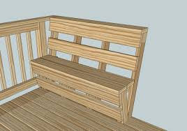 bench bench seat deck railing top best deck bench seating ideas