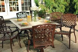 Antique Wrought Iron Outdoor Furniture by Patio Outstanding Metal Patio Tables Expanded Metal Patio Table