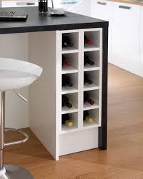 phoenix joinery kitchens greenwich white smooth white wine rack