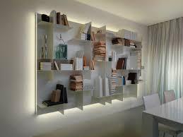 Bookcase Modular Wall Mounted Bookcase Modular Contemporary Metal Movida By